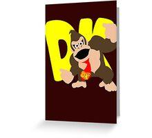 Super Smash Bros Donkey Kong Greeting Card