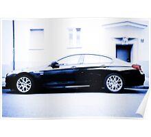 BMW 6 Series Gran Coupé Poster