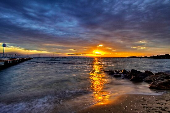 Cameron's Bight sunrise by Keith Stead