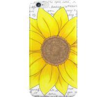 Whitman Sunflower iPhone Case/Skin