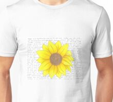 Whitman Sunflower Unisex T-Shirt
