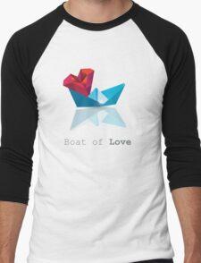 Boat of Love Men's Baseball ¾ T-Shirt