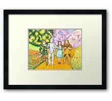 Follow the Yellow Brick Road Framed Print