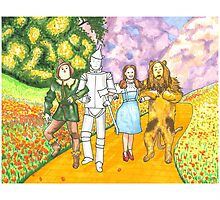 Follow the Yellow Brick Road Photographic Print