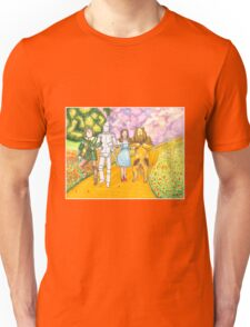 Follow the Yellow Brick Road Unisex T-Shirt