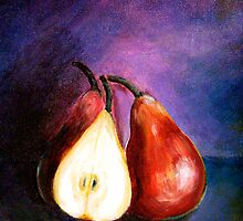 Pears...Marooned by © Janis Zroback