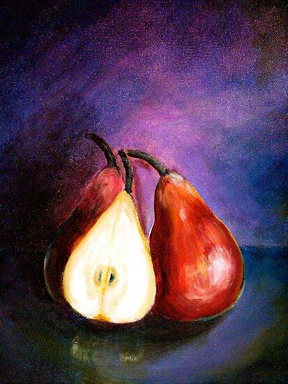 Pears...Marooned by © Janis Zroback