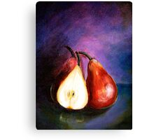 Pears...Marooned Canvas Print