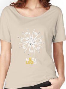 Legs Flower Women's Relaxed Fit T-Shirt