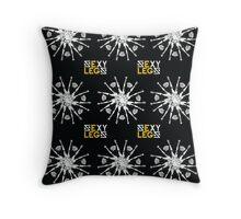Legs Flower Throw Pillow