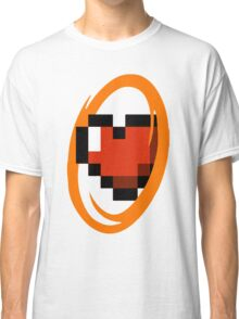 Portal Lover ! Orange Classic T-Shirt