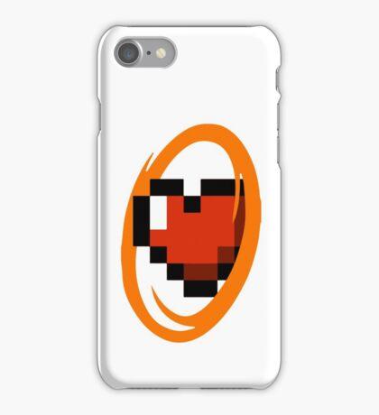 Portal Lover ! Orange iPhone Case/Skin