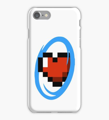 Portal Lover ! Blue iPhone Case/Skin