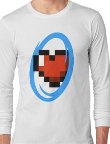 Portal Lover ! Blue Long Sleeve T-Shirt