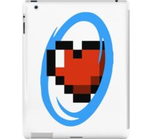 Portal Lover ! Blue iPad Case/Skin