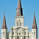 Saint Louis Cathedral by Sara Wood