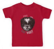 Shih-Tzu Says Woof! Woof! Kids Tee