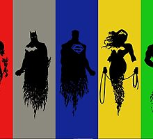 Silhouettes of Justice by iankingart