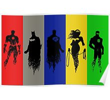 Silhouettes of Justice Poster