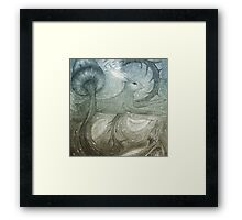 Hare Illustration Framed Print
