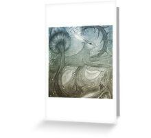 Hare Illustration Greeting Card