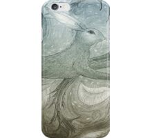 Hare Illustration iPhone Case/Skin