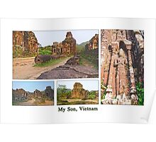 Vietnam: My Son Sanctuary Poster