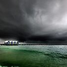 Storm at Busselton, Busselton Jetty, WA by James Deypalan