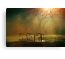 Midnight Merry-Go-Round  Canvas Print