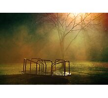 Midnight Merry-Go-Round  Photographic Print
