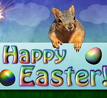 Happy Easter Card by BluAlien
