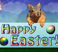 Happy Easter Card by BluAlien