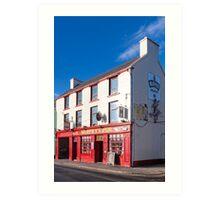 Murphy's Pub On A Sunny Day In Dingle Ireland Art Print
