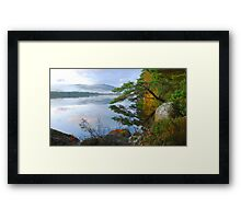 Tranquility of the Scottish Highlands Framed Print