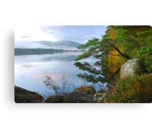 Tranquility of the Scottish Highlands Canvas Print