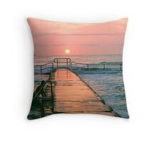 this morning Throw Pillow