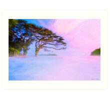 From The Edge Of Dreams - Lake Nicaragua Waterscape Art Print