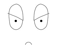 Simple Mood Smiley Face - Angry by instantgaram