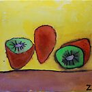 Kiwifruit by Zoe Thomas Age 7 by Julia  Thomas
