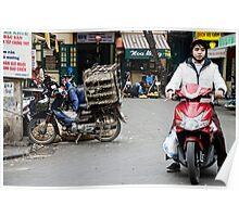 Vietnam: Modes of Transport Poster