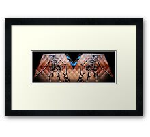 chichester graffiti 2 Framed Print