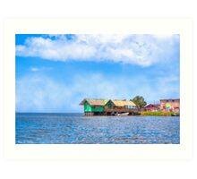 San Carlos - On The Shores Of Lake Nicaragua Art Print