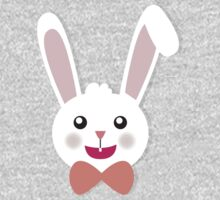 Easter Bunny Bow Tie One Piece - Long Sleeve