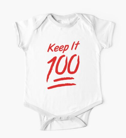 Keep It 100 One Piece - Short Sleeve