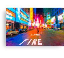 Bright Lights Of Broadway - New York City Canvas Print