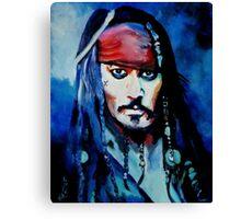 Captain Jack Canvas Print