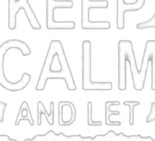 Keep calm and let Jimmy handle it-T-Shirts & Hoddies Sticker