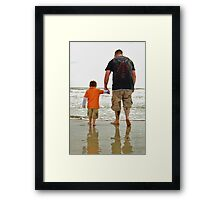 To the Water Framed Print