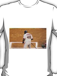 Sandoval at Bat T-Shirt