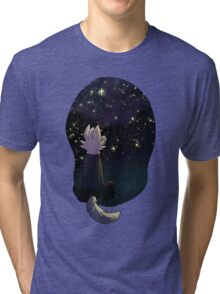 Doctor Mew: The Deep and Lovely Dark Tri-blend T-Shirt